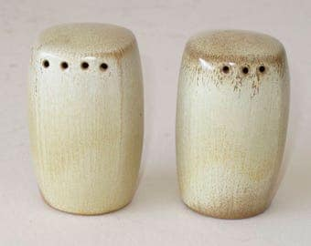 Frankoma Desert Sand Plainsman Salt and Pepper Shakers
