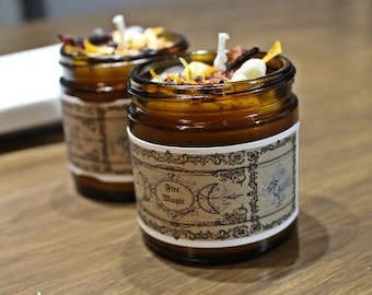 Fire Magic Candle, Fire Candle, Ritual, Spell, Passion, motivation, Creativity, Magic, Witchcraft