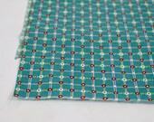 Vintage Fabric / 1930s Fabric 1940s Fabric / Dress Fabric Floral Fabric Plaid Fabric Feedsack Print Quilt Fabric Quilting Fabric