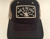 Made In The South Black Trucker Hat
