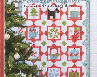 QUILT BOOK:  Winter Wonderland - By designer Sherri Falls