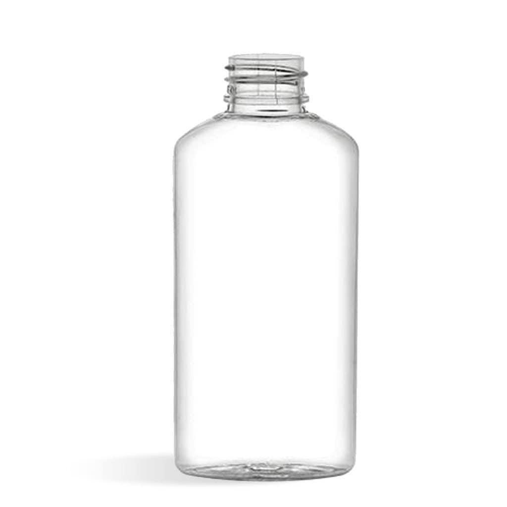 10 2 Oz Clear Oblong Plastic Bottles And Lids
