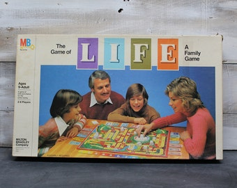1981 Milton Bradley The Game of Life Board Game