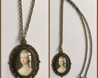 Marie Antoinette Cameo Necklace