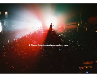 "Interpol Concert Photo - 4"" x 6"""