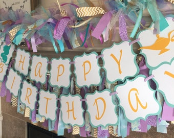 Jasmine Birthday Decorations - Princess Jasmine Party - Disney Jasmine Banner - Alladin Birthday Decor- Jasmine Birthday - Heartfeltparty