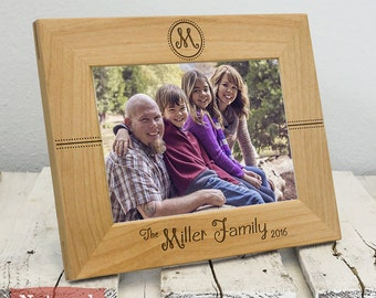 Personalized Family Frame - Gifts For Parents - Gifts For Him - Gifts for Her - Dad Gift- Mom Gift - Family Picture Frame