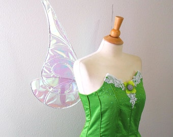 Winter 2016 Tinkerbell SILVER wings Fairy wings Costume Cosplay