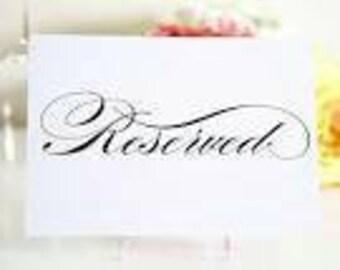 Custom stocking lettering