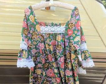 70s Boho Festival Dress