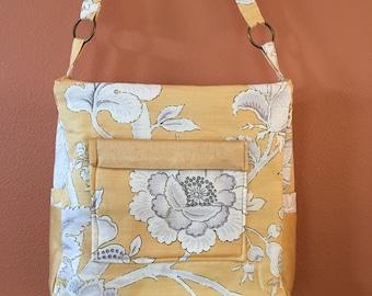 Breezy #1699, Knitting Bag, Knitting Tote, Knitting Project Bag, Project Tote, Project Bag, Knitting Accessory Bag, Shoulder Bag, Handbag