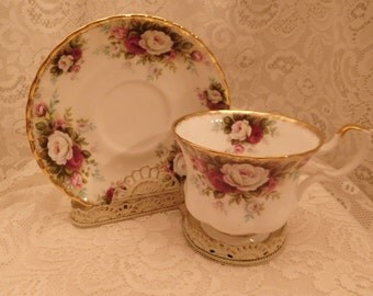 Royal Albert Tea Cup and Saucer Celebration (2 available)