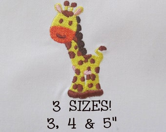 Buy 1 Get 1 Free!  Giraffe Embroidery Design Baby Giraffe Embroidery Design Baby Embroidery Design Digital Design Embroidery Pattern