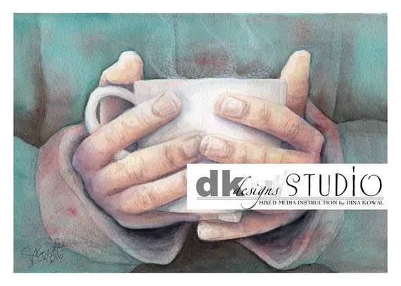 "Morning Coffee -  5""x 7"""