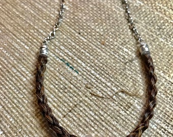 Custom Horse Hair Necklace Made to Order