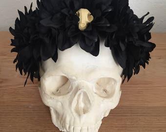 Goth skulls - headband