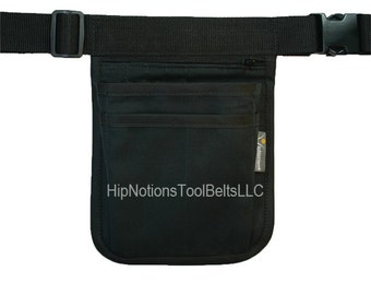 Physicians Ipad Mini Computer Slot Machine Black Cordura Nylon HipNotions Tool Belt
