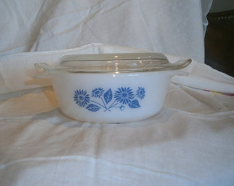 Vintage Fire King Casserole with Lid