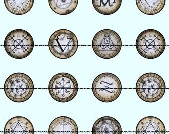 Pagan Symbol Magnets, Pagan Magnets Pins,  Party Favor, Wedding Favors, Magnet Gift Sets, Pin Gift Sets, Fridge Magnets, Refrigerator Magnet