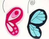12 Custom Butterfly Headbands