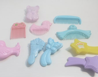 My Little Pony G1 Lot of 18 Assorted Combs and Brushes
