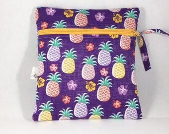 Wet Bag Cloth Pad Wet Bag Pineapples