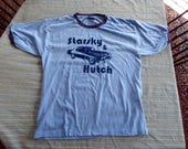 Starsky and Hutch Fantastic  Vintage  Ringer t shirt  Size XL  Really Nice  High Quality