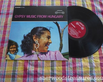Gypsy Music  From Hungary Vinyl LP  Record AlbumLondon International Records Uncomon