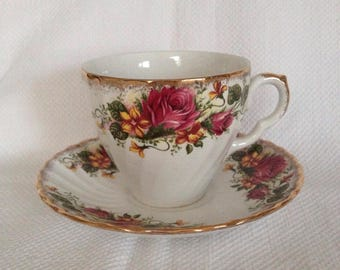 Vintage Teacup and Saucer.