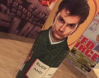 10th Doctor Prayer Candle - Rude & Not Ginger