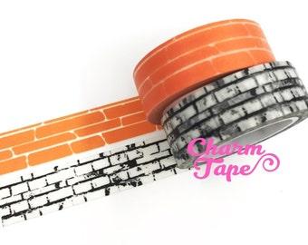 Brick Washi Tape 15mm x 10m WT320