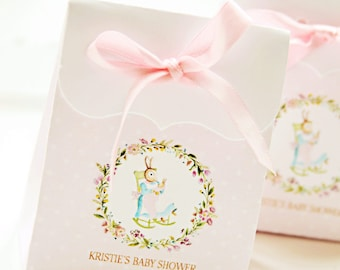 Baby Bunny Garden Favor Box by Loralee Lewis