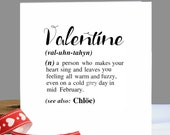 Valentines Card|Personalised Card|Romantic Card|Sentimental Card|Card for Boyfriend|Card for Girlfriend|Valentines Day Card