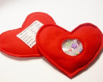 I Spy Bag - Red Heart - Find it - Game
