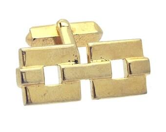 Antique/Vintage SWANK Gold tone Cufflinks #1378