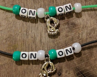 Cheap St Patty's Day Bling - ON-ON Necklace with Feet Charm