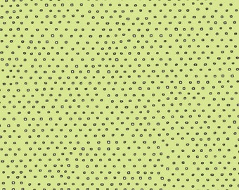 Pixie Square Dot Blender by Ink & Arrow Fabrics - Square Dot in Light Green (24299-H) - Ink and Arrow - 1 Yard