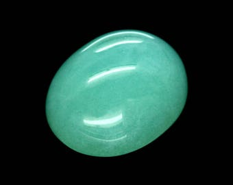 CHRYSOPRASE (33768) * * * * Green 10.5 x 8.3mm Chrysoprase Oval