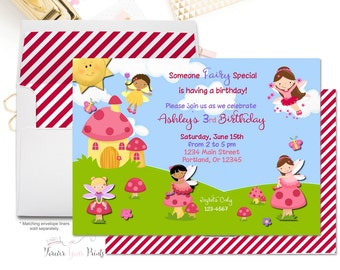 Under The Sea Invitation Girls Birthday By Foreveryourprints