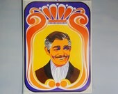 Original 1968 Psychedelic Pop Art Poster