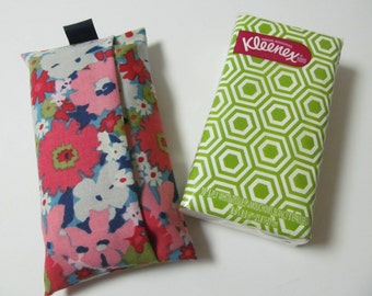 Tissue Case/Pink Flower