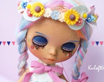 Kuloft Custom Blythe No.25  Bohemian  Doll by Kuloft Custom