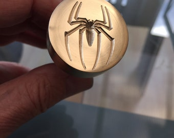Spider Press / Stamp for Hot Glass and art clays.