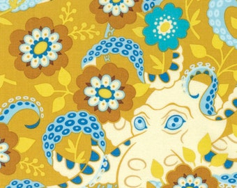 Hello Love, Octopus's Garden, Gold, Heather Bailey, One Yard