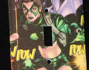 Marvel Kitty Pryde Xmen Comic Book Switchplate Wall Plate Light Cover