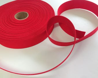 """Red Elastic, 1 3/8"""" Wide Elastic, Craft and Sewing Supplies"""