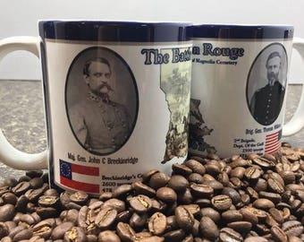 The Battle Of Baton Rouge Coffee Mugs