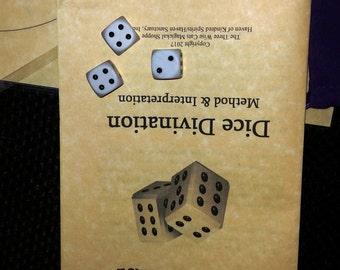 Dice Divination Kit --Divination, Astrogalomancy, Prediction, Future