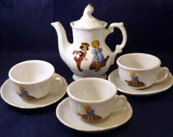 Vintage Roehler Collection Made in Germany Tea Set, 1970s (8 piece)