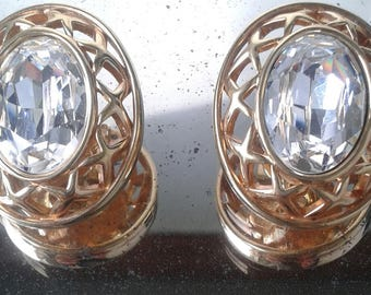 Vintage earrings from 80s.       Mother's Day gift